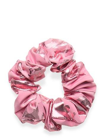 STINE GOYA Scrunchy, 856 Metallic Jacquard Beauty WOMEN Hair Hair Accessories Vaaleanpunainen STINE GOYA ROSE LUREX