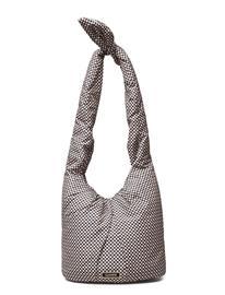 Ganni Tote Bag Bags Shoppers Fashion Shoppers Beige Ganni TANNIN