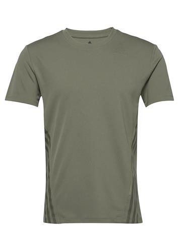 adidas Performance Aero 3s Tee T-shirts Short-sleeved Vihreä Adidas Performance LEGGRN