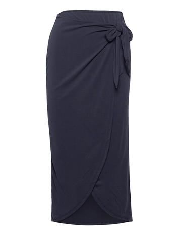 Soaked in Luxury Slcoluni Skirt Polvipituinen Hame Sininen Soaked In Luxury NIGHT SKY