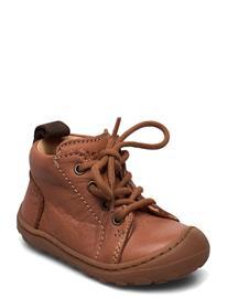 Bisgaard Bisgaard Thea Shoes Pre Walkers Beginner Shoes 18-25 Ruskea Bisgaard COGNAC