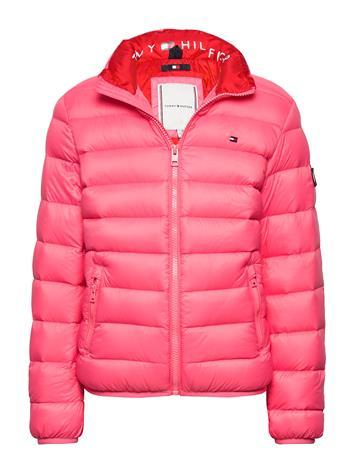 Tommy Hilfiger U Light Down Jacket Toppatakki Vaaleanpunainen Tommy Hilfiger GLAMOUR PINK