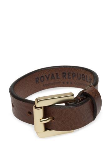 Royal RepubliQ Coil Bracelet - Classic Accessories Jewellery Ruskea Royal RepubliQ COGNAC