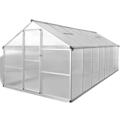 Rancher-kasvihuone 7 m2