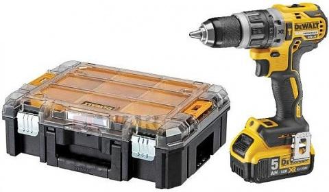 DeWalt DCD796P2T-QW 18V 2x5,0Ah, akkuiskuporakone/-ruuvinväännin