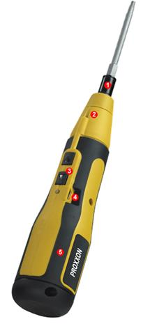 Proxxon ASD (22 295) 3,6V 1/4'', USB-ruuvinväännin