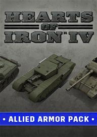 Hearts of Iron IV - Allied Armor Pack, PC-peli