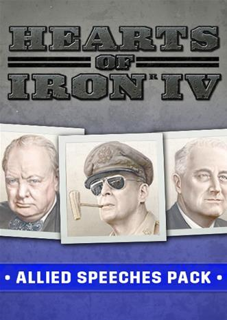 Hearts of Iron IV - Allied Speeches Pack, PC-peli