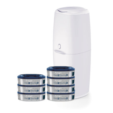 Angel care® Vaipparoskisluokka ic XL sisältää seitsemän täyttökasettia