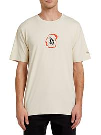 Volcom Posted T-Shirt white flash Miehet