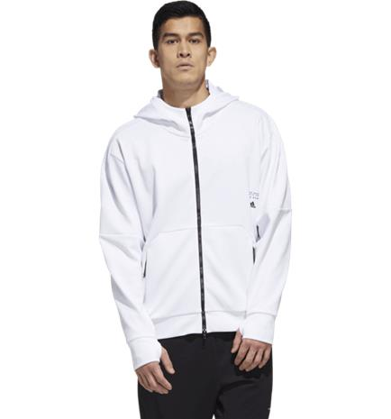Adidas M MHS AERO FZHD WHITE