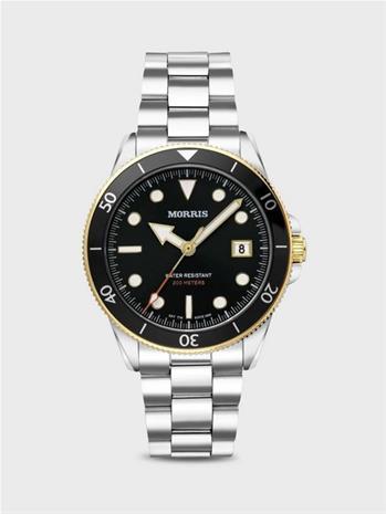 Morris Watches St.Ives Diver Kellot Musta