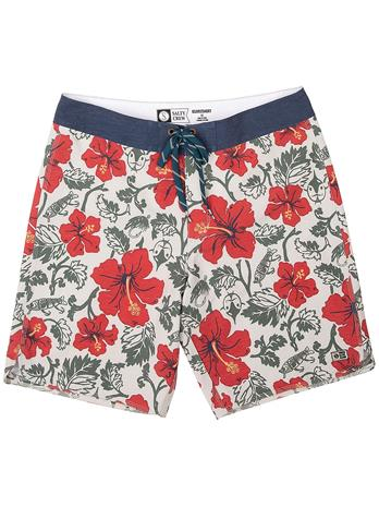 Salty Crew Hooked Floral Boardshorts off white Miehet