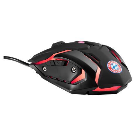 Snakebyte FCB Gaming Mouse - FC Bayern München (SB913662), langallinen pelihiiri