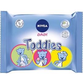 NIVEA BABY Toddies monikäyttöpyyhkeet 60 kpl