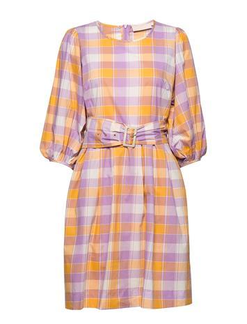 Karen By Simonsen Birkakb Dress Polvipituinen Mekko Monivärinen/Kuvioitu Karen By Simonsen NARCISSUS