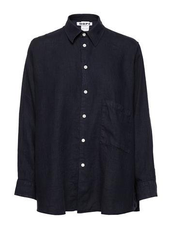Hope Elma Shirt Pitkähihainen Paita Sininen Hope NAVY