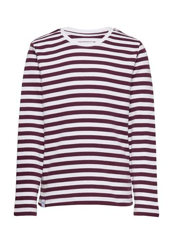 Makia Verkstad Long Sleeve T-shirts Long-sleeved T-shirts Liila Makia WINE-WHITE