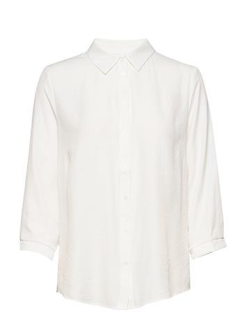 Cream Vickycr Shirt Pitkähihainen Paita Valkoinen Cream SNOW WHITE