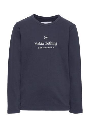Makia Horizon Long Sleeve Svetari Collegepaita Sininen Makia DARK BLUE, Lastenvaatteet