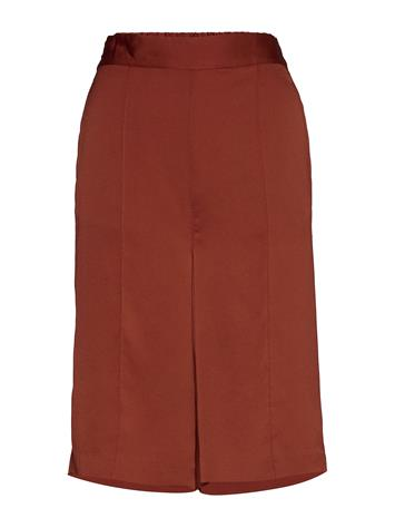 Soaked in Luxury Slveria Culotte Shorts Bermudashortsit Shortsit Punainen Soaked In Luxury BARN RED