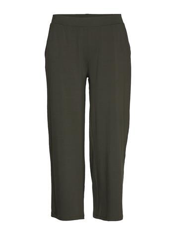 Gerry Weber Edition Trousers Knitted Fab Casual Housut Vihreä Gerry Weber Edition DEEP FOREST