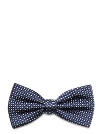 Tommy Hilfiger Tailored Micro Design Silk Bowtie Rusetti Sininen Tommy Hilfiger Tailored NAVY/BLUE/WHITE