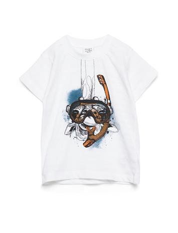 Hust & Claire Arthur - T-Shirt S/S T-shirts Short-sleeved Valkoinen Hust & Claire WHITE
