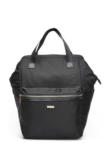 DAY et Day Logo Band T Bp Frame Bags Backpacks Casual Backpacks Musta DAY Et BLACK