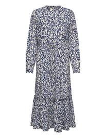 Lollys Laundry Anastacia Dress Maksimekko Juhlamekko Sininen Lollys Laundry FLOWER PRINT