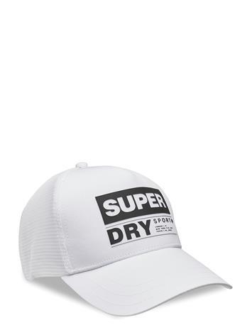 Superdry Sport Cap Accessories Headwear Caps Valkoinen Superdry OPTIC