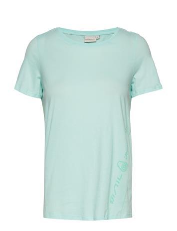 Sail Racing W Gail Tee#2 T-shirts & Tops Short-sleeved Sininen Sail Racing AQUA FLOW