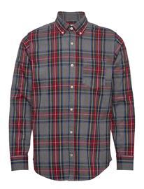 NN07 Levon Shirt 5913 Paita Bisnes Harmaa NN07 MULTI CHECK