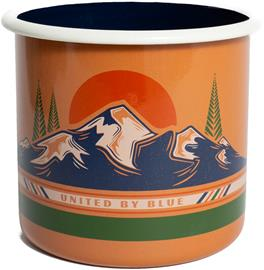 United By Blue To the Mountains Emali teräsmuki 650ml, gold