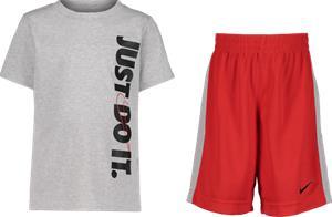 Nike K JDI TOP & SHORT SET UNIVERSITY RED