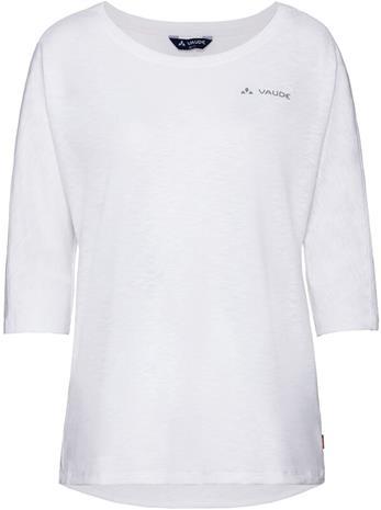 VAUDE Skomer 3/4 Shirt Women, white