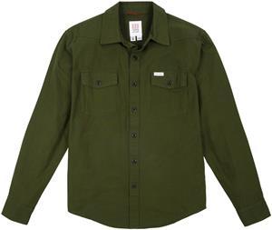 Topo Designs Mountain Lightweight Shirt Men, olive