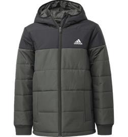 Adidas J MIDWEIGHT PADDED JACKET LEGEND EARTH