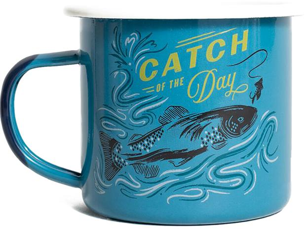United By Blue Catch of the Day Emali teräsmuki 355ml, blue