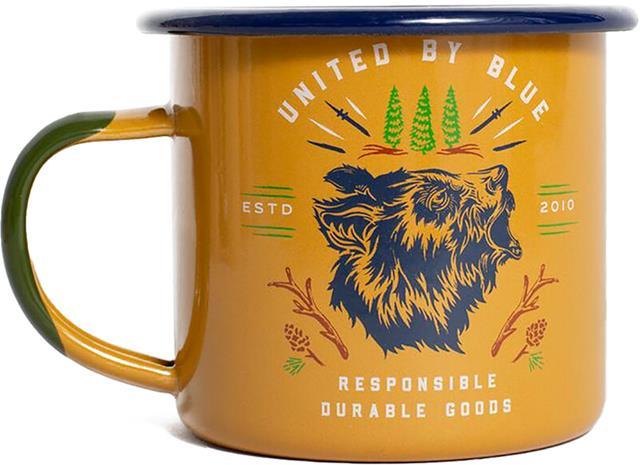 United By Blue Grizzly Emali teräsmuki 355ml, canyon orange