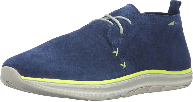 Altra Desert Boots Men, blue/lime