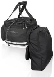 XLC Carry More BA-S64 Rack Bag 16l for XLC System Carrier incl. Adapter Plate, black/anthracite
