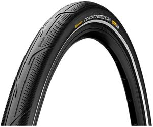 "Continental Contact Urban Clincher-rengas 28x2.00"""" Reflex E-50 SafetyPro, black/black"