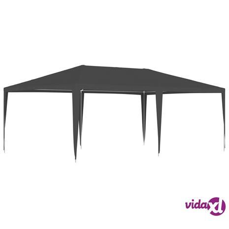 vidaXL Ammattilaisten juhlateltta 4x6 m antrasiitti 90 g/m²