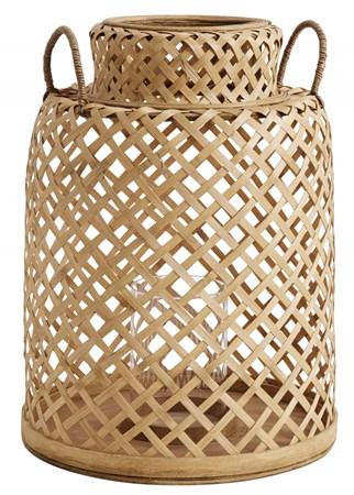 Nordal Kynttilälyhty Bambu large
