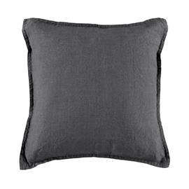 Gripsholm Tyynynpäällinen pellava 50x50cm - Tummanharmaa