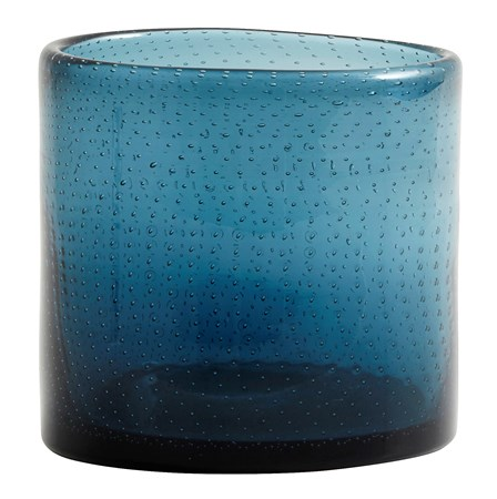 Nordal Kynttilälyhty BUBBLE ä˜ 10 cm - Sininen