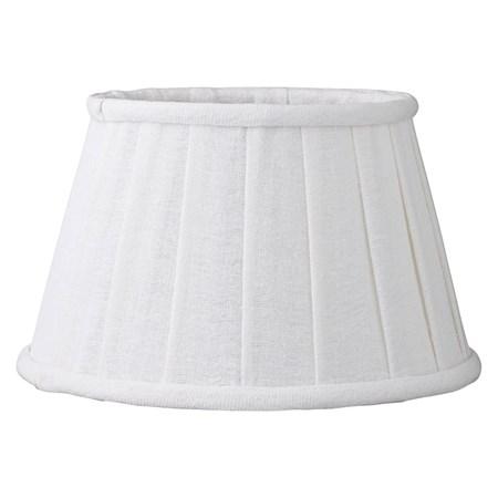 Lene Bjerre Lampunvarjostin Soft Linen ä˜22cm Valkoinen