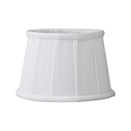 Lene Bjerre Lampunvarjostin Soft Linen ä˜18cm Valkoinen