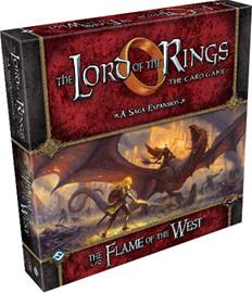 Lord of the Rings LCG: Flame of the West Saga Expansion